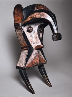 ナイジェリアの仮面